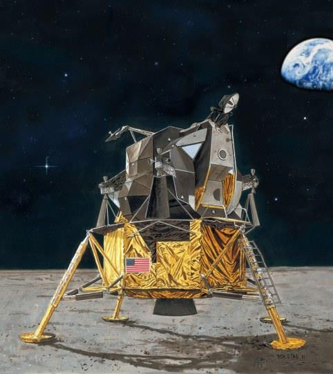 Apollo 11 Lunar Module Eagle (50th Anniversary Moon Landing 1969-2019) - 1:48 - Revell