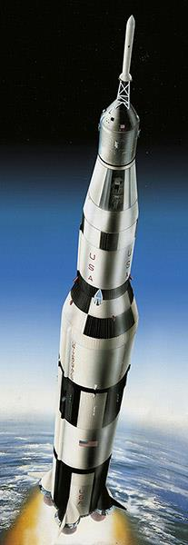 Apollo 11 Saturn V Rocket (50th Anniversary Moon Landing 1969-2019) - 1:96 - Revell