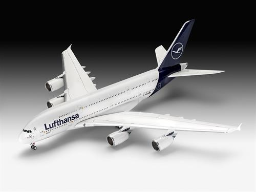 "Airbus A380-800 Lufthansa ""New Livery"" - 1:144 - Revell"