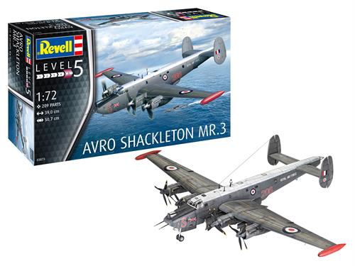 Avro Shackleton MR.3 - 1:72 - Revell