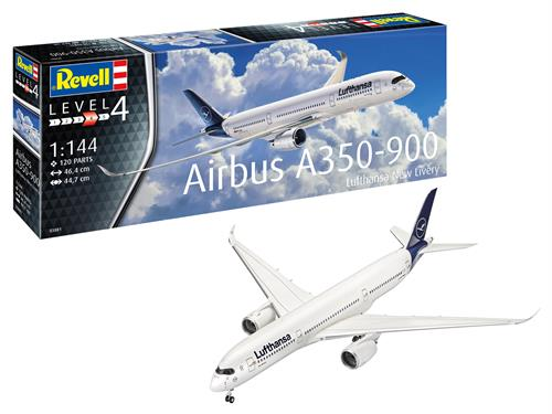 Airbus A350-900 Lufthansa New Livery - 1:144 - Revell