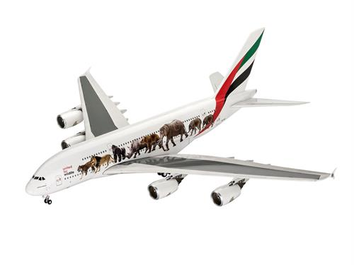 "Airbus A380-800 Emirates ""Wild Life"" - 1:144 - Revell"