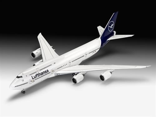 "Boeing 747-8 Lufthansa ""New Livery"" - 1:144 - Revell"