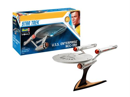 U.S.S. Enterprise NCC-1701 (Star Trek: The Original Series) - 1:600 - Revell