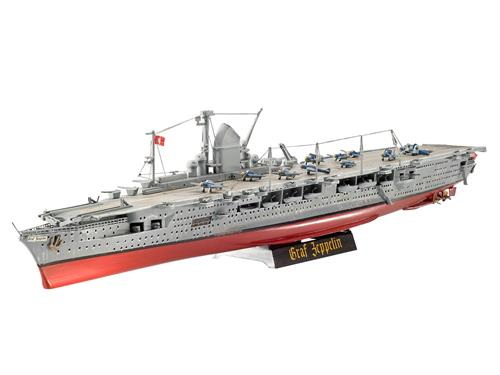 German Aircraft Carrier GRAF ZEPPELIN - 1:720 - Revell