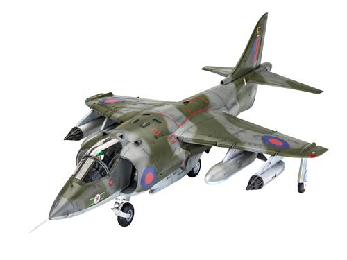 "Gift-Set: Harrier GR.1 ""50 years"" - 1:32 - Revell"