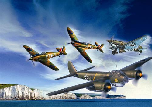 Gift-Set: 80th Anniversary Battle of Britain - 1:72 - Revell