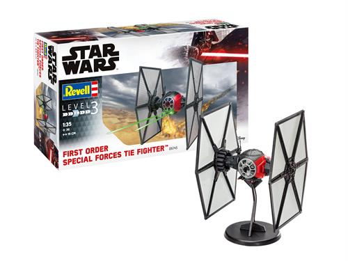 STAR WARS First Order Special Forces TIE Fighter - 1:35 - Revell