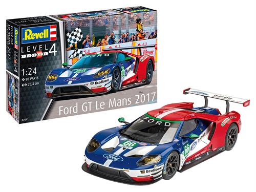 Ford GT Le Mans 2017 - 1:24 - Revell