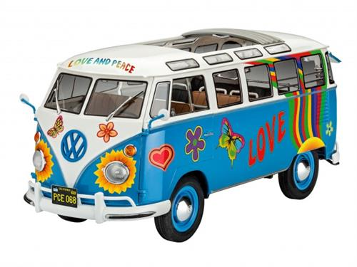 "VW T1 Samba Bus ""Flower Power"" - 1:24 - Revell"