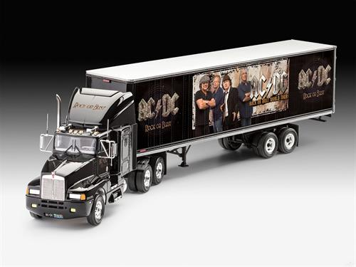 "Truck & Trailer ""AC/DC Rock or Bust - Tour Truck"" ""Limited Edition"" - 1:32 - Revell"