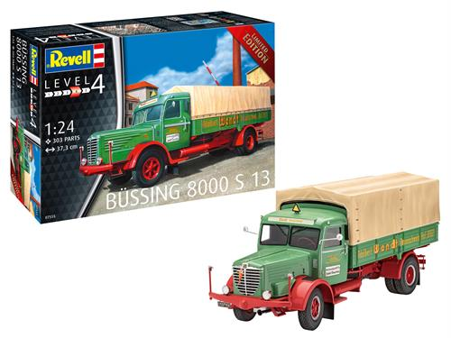 Büssing 8000 S13 - LIMITED EDITION - 1:24 - Revell