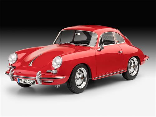 "Porsche 356 Coupe - 1:16 - ""easy-click system"" - Revell"