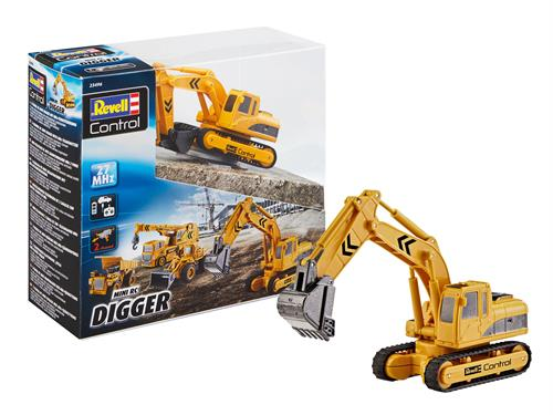 Mini RC Digger - RTR - 27 MHz - Revell Control
