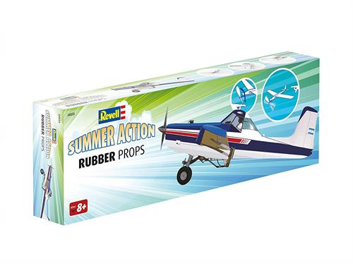 "Summer Action ""Rubber Props"", white/blue - Summer Action - Revell"
