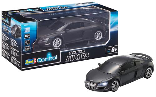 R/C Audi R8 - 1:24 - RTR - 40 MHz - Revell Control