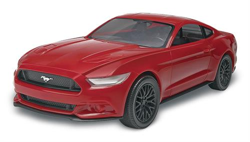 "2015 Mustang GT - 1:25 - ""SnapTite - Build & Play"" - Revell  (US varenummer: 85-1694)"