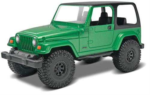 "Jeep Wrangler Rubicon - 1:25 - ""SnapTite - Build & Play"" - Revell  (US varenummer: 85-1695)"