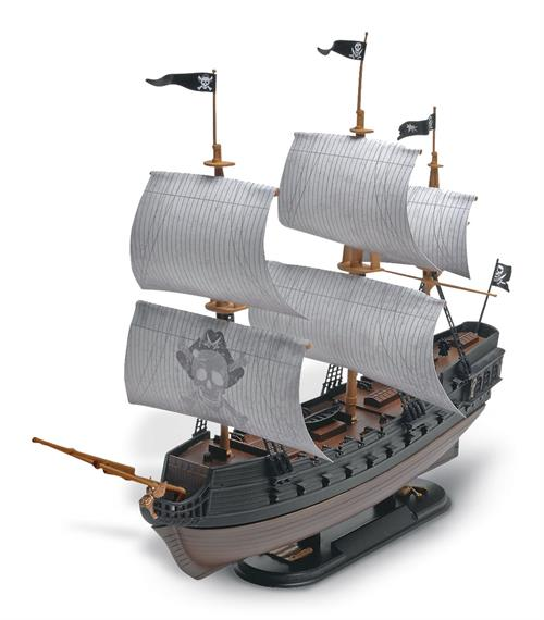 "The Black Diamond Pirate Ship - 1:350 - ""SnapTite"" - Revell (US varenummer: 85-1971)"