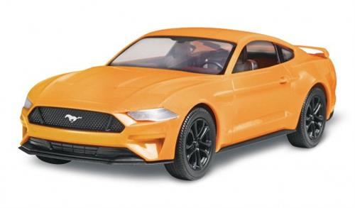 "2018 Mustang GT - 1:25 - ""SnapTite - Build & Play"" - Revell  (US varenummer: 85-1996)"