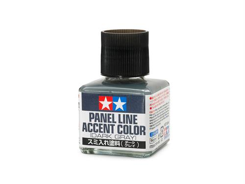 Panel Line Accent Color - Dark Gray - 40ml - Tamiya