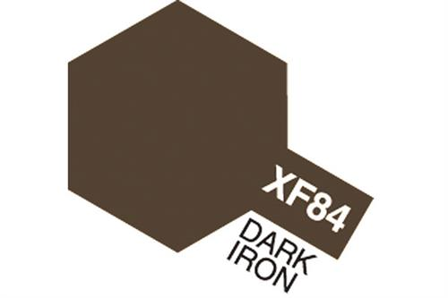XF-84 Dark Iron, Acrylic Mini 10 ml (penselmaling, mat) - Tamiya