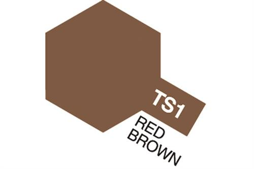 TS-1 Red Brown, spray 100 ml - Tamiya
