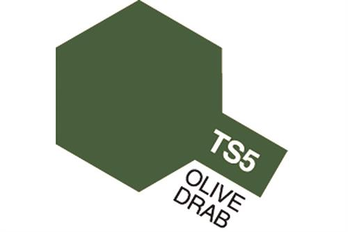TS-5 Olive Drab, spray 100 ml - Tamiya