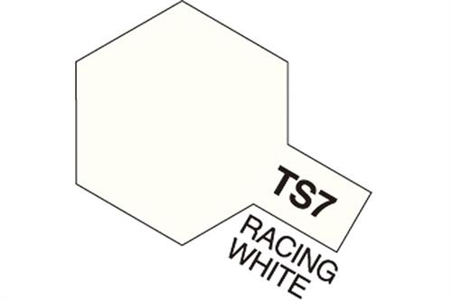 TS-7 Racing White, spray 100 ml - Tamiya