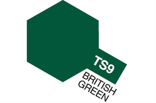 TS-9 British Green, spray 100 ml - Tamiya