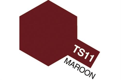TS-11 Maroon, spray 100 ml - Tamiya