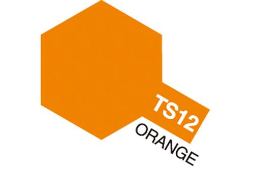 TS-12 Orange, spray 100 ml - Tamiya
