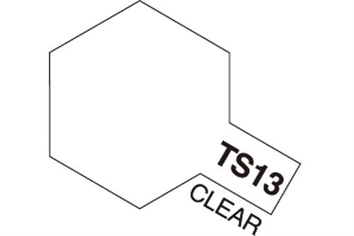 TS-13 Clear, spray 100 ml - Tamiya