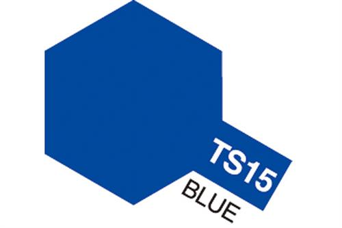 TS-15 Blue, spray 100 ml - Tamiya