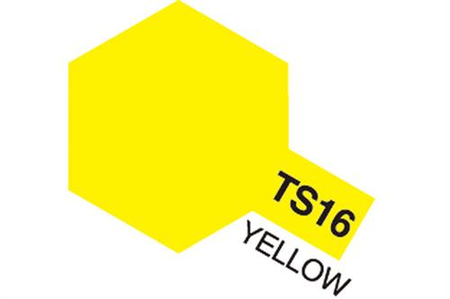 TS-16 Yellow, spray 100 ml - Tamiya