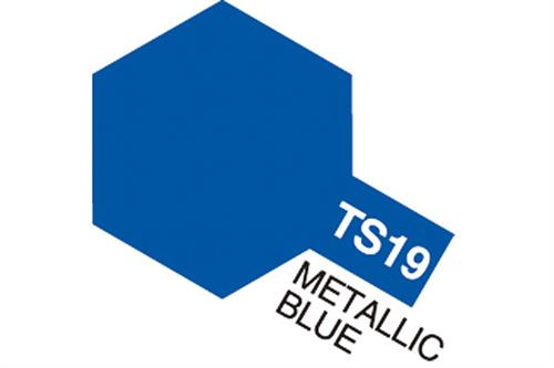 TS-19 Metallic Blue, spray 100 ml - Tamiya