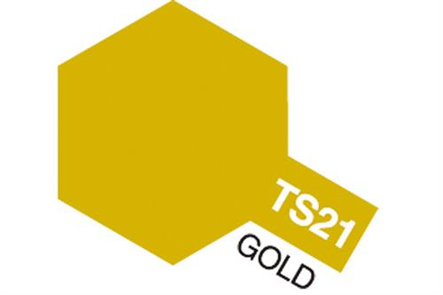 TS-21 Gold, spray 100 ml - Tamiya