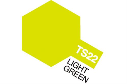 TS-22 Light Green, spray 100 ml - Tamiya