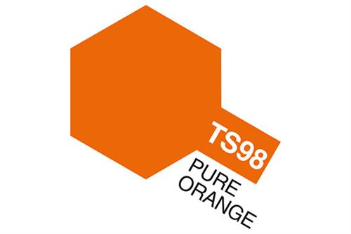 TS-98 Pure Orange, spray 100 ml - Tamiya