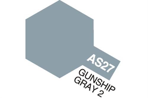 AS-27 Gunship Gray 2, spray 100 ml - Tamiya