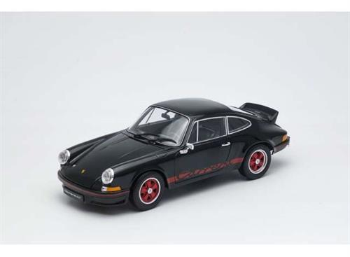 Porsche 911 Carrera RS (1973), black/red - 1:18 - Welly