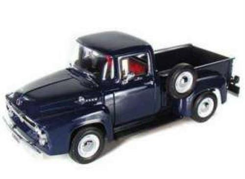 1956 Ford F100 Pick Up, blue - 1:18 - Welly