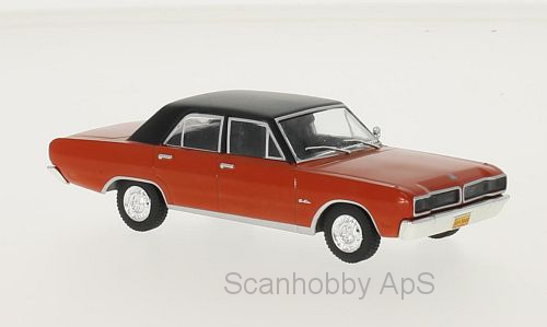 Dodge Charger R/T (1975) - red/black - 1:43 - WhiteBox