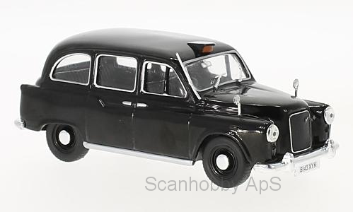 Austin FX4, RHD, London Taxi (1985), black - 1:43 - WhiteBox