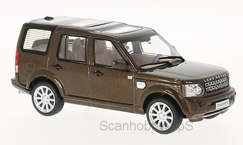 Land Rover Discovery 4 (2010), brown metallic - 1:43 - WhiteBox