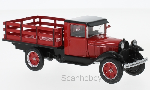 Ford AA Platform Truck (1928), red - 1:43 - WhiteBox
